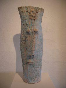 Keramik Gesicht